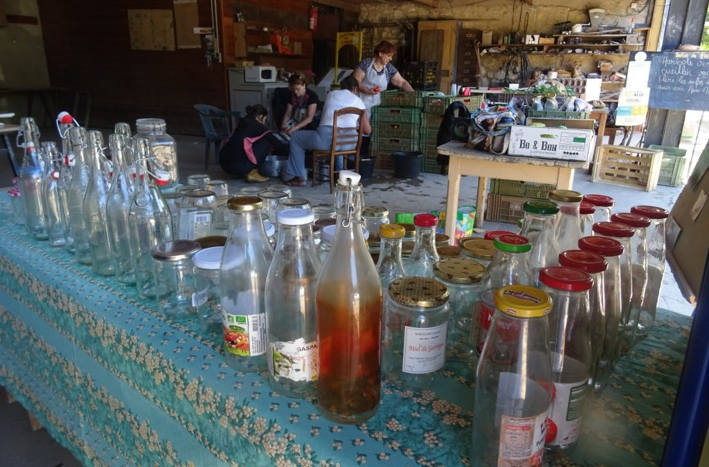 Atelier coulis de tomates à l'AMAP du Rouinet
