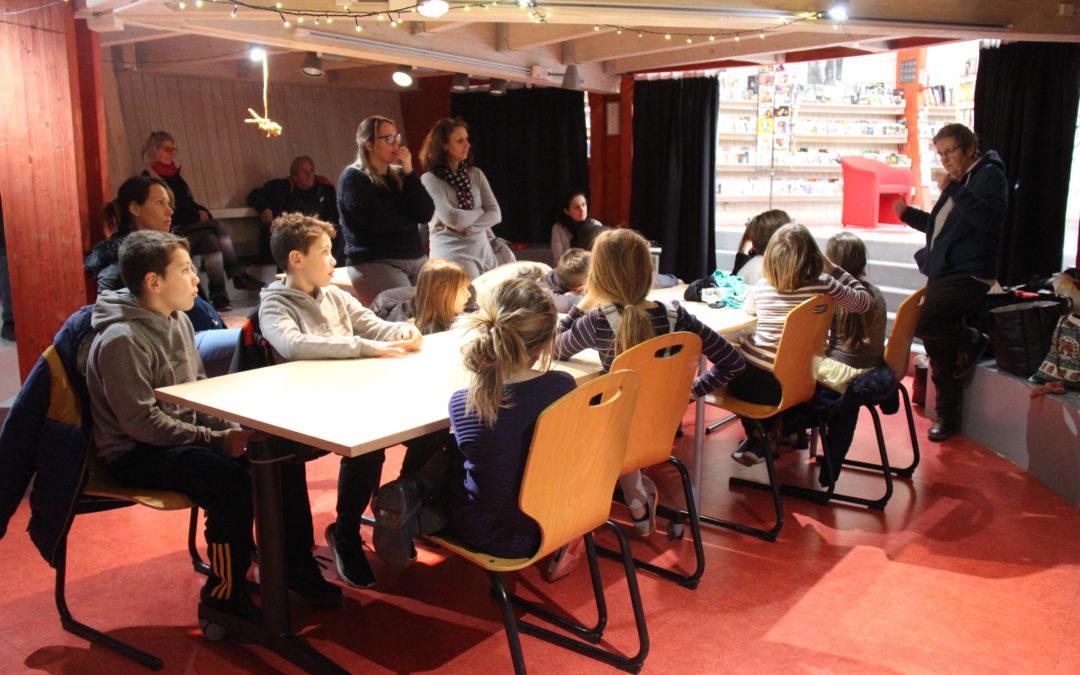 Atelier furoshiki/tawashi à la médiathèque de St-Martin-de-Crau