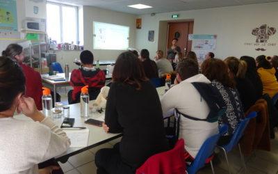 Journée de formation  Centre la Recampado St-Chamas